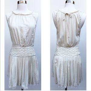Free People Boho Sleeveless Dress Cream Size 0